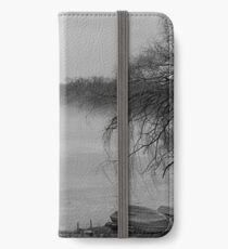 Early Morning Fog At the Lake iPhone Wallet/Case/Skin