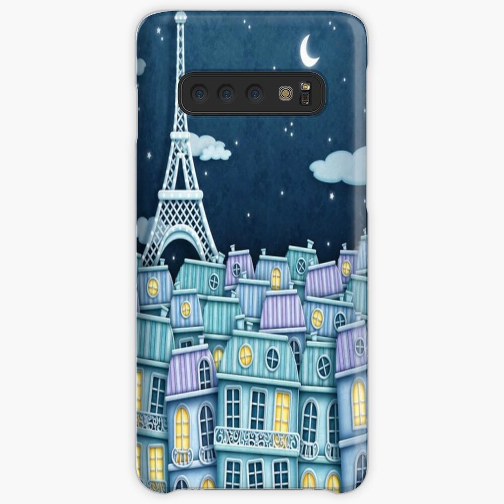 Paris Hülle & Klebefolie für Samsung Galaxy