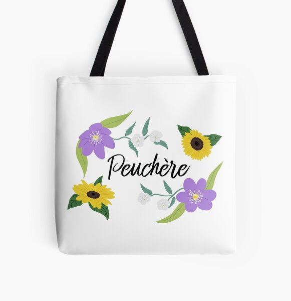 Peuchère All Over Print Tote Bag
