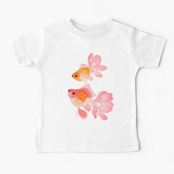 Cherry blossom goldfish 1 Baby T-Shirt
