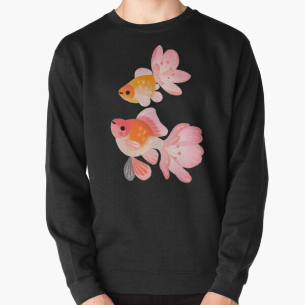 Cherry blossom goldfish 1 Pullover Sweatshirt