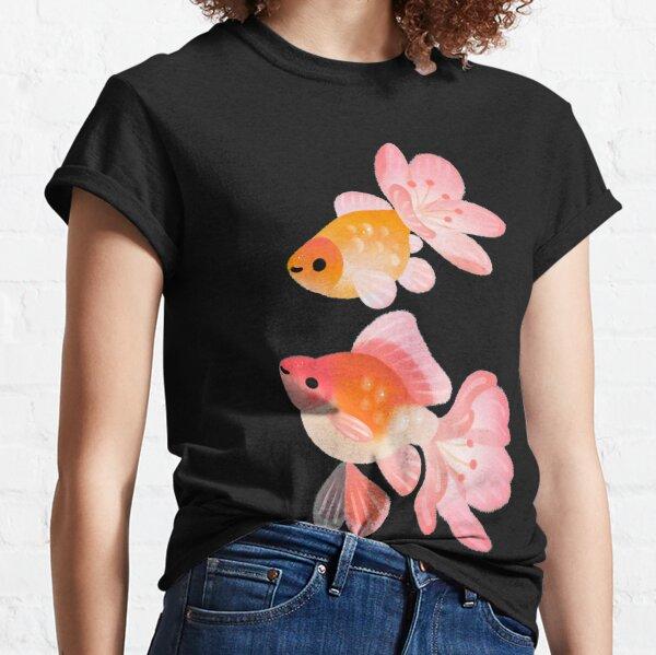 Pez flor de cerezo 1 Camiseta clásica