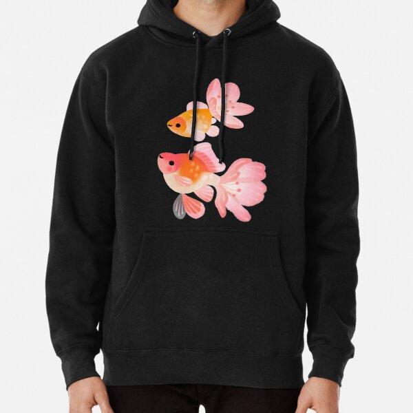 Cherry blossom goldfish 1 Pullover Hoodie