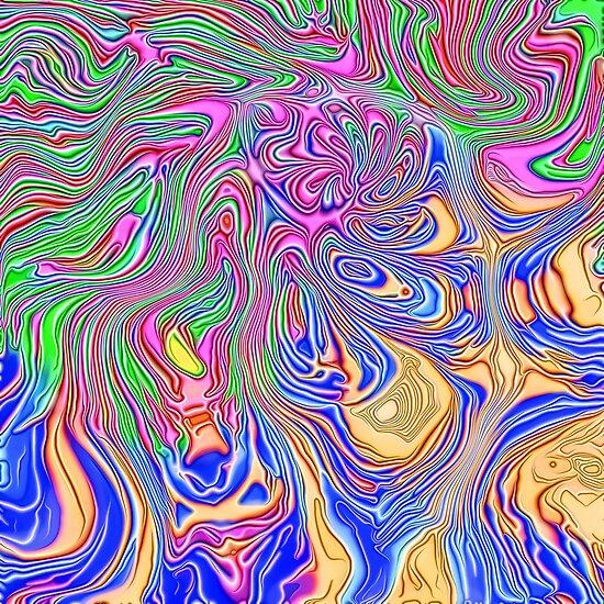 Abstract liquid ways