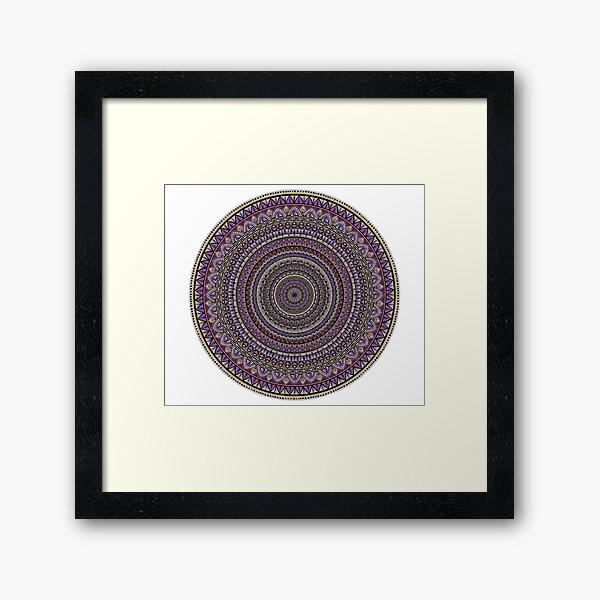 Grape Love Framed Art Print