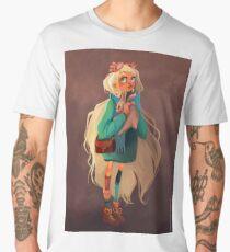 Luna fantastique - illustration T-shirt premium homme