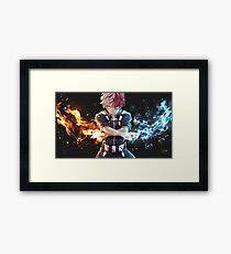 Todoroki BNHA Framed Print