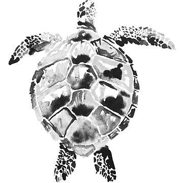 sea turtle by pechane