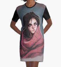 Femme de la nature - illustration Robe t-shirt