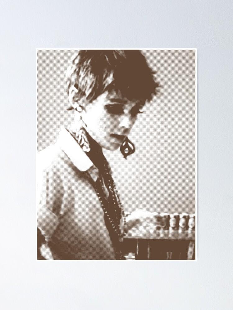 Black and White Print//Poster Edie Sedgwick