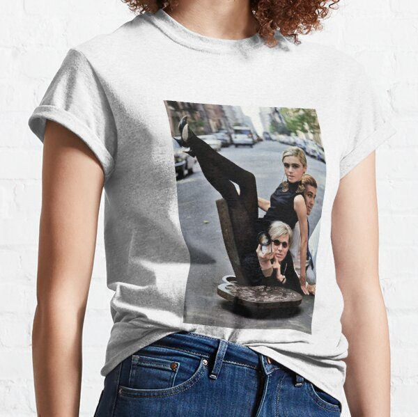 Edie Sedgwick Andy Warhol Photography Fashion Icon sixties Classic T-Shirt