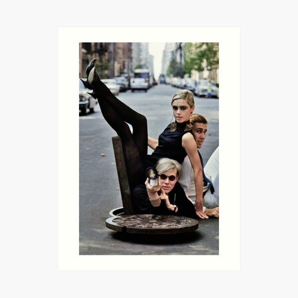 Edie Sedgwick Andy Warhol Photography Fashion Icon Art Print