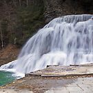 A Closer View of Lower Waterfalls by BigD