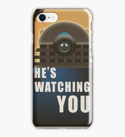 He is Watching You! iPhone Case/Skin