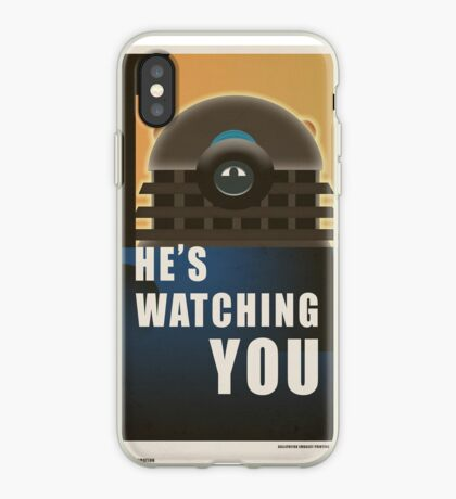 He is Watching You! iPhone Case