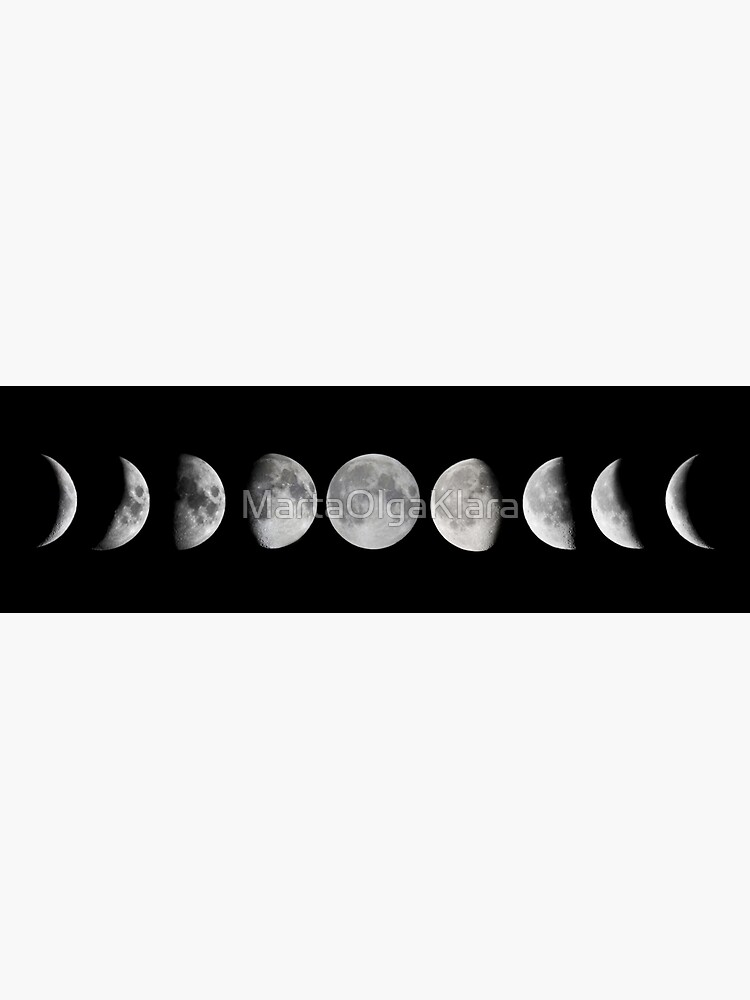 Moon phases by MartaOlgaKlara