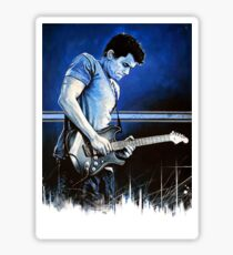 John Mayer Blues Sticker