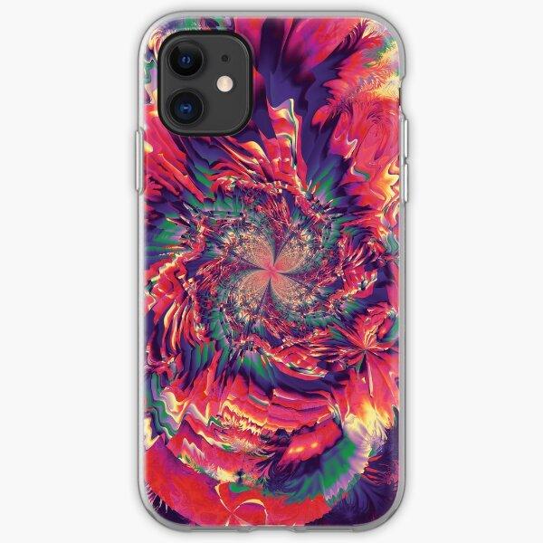 Explosión de colores Funda blanda para iPhone