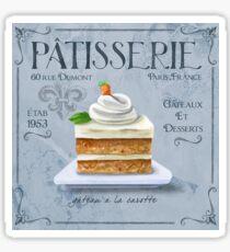 French Patisserie Art, Carrot Cake Sticker