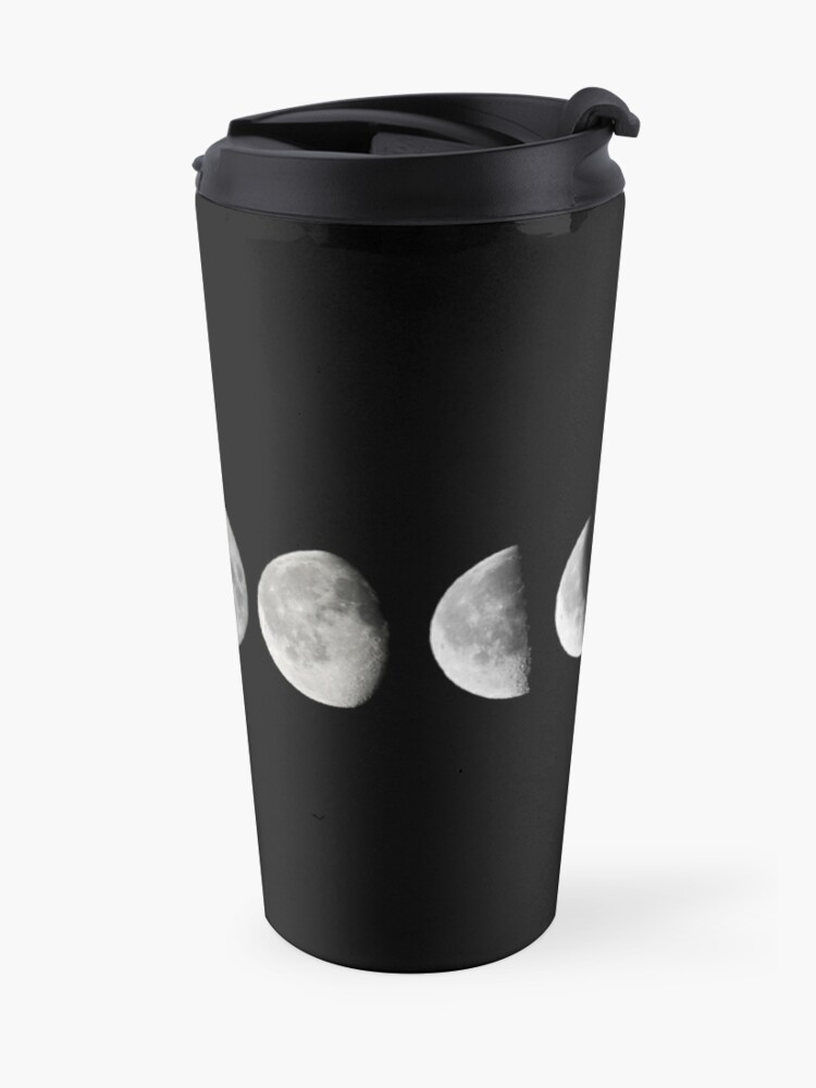 Alternate view of Moon phases Travel Mug