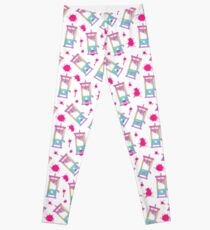 Cute Rainbow Unicorn Guillotine Leggings