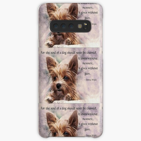 The Soul of a Dog - Yorkie Samsung Galaxy Snap Case