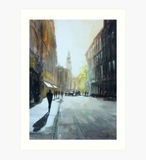 St Martin's Lane Art Print