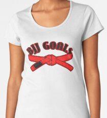 BJJ Goals Red Belt Women's Premium T-Shirt