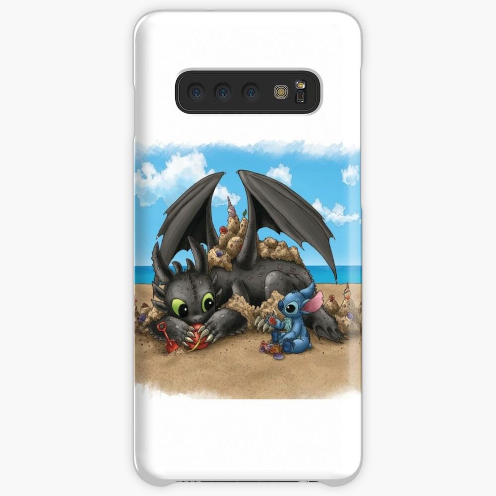 Beach Buds - desdentado y cosido Funda y vinilo para Samsung Galaxy