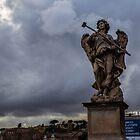 Angel Statue in Rome by Fike2308