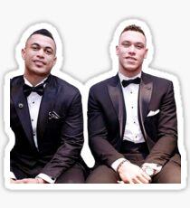 Aaron Judge and Giancarlo Stanton Sticker