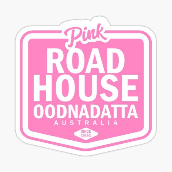 PINK ROADHOUSE OODNADATTA AUSTRALIA, BY SUBGIRL Sticker