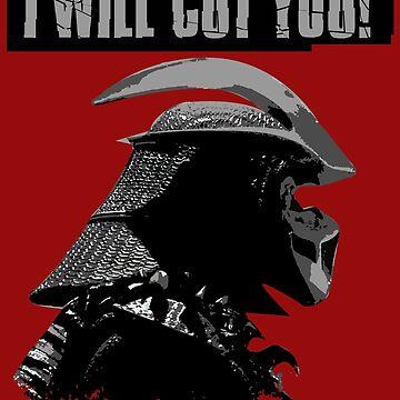 I WILL CUT YOU! by CreativeSpero