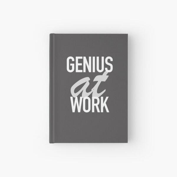 Genius at Work  Hardcover Journal