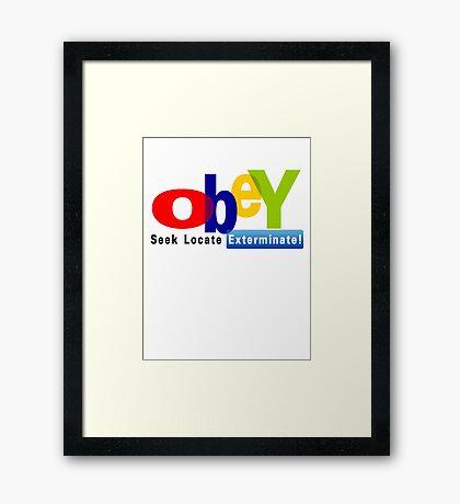 Obay  Framed Print