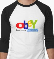 Obay  Men's Baseball ¾ T-Shirt