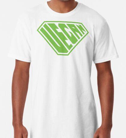 Vegan SuperEmpowered (Green) Long T-Shirt
