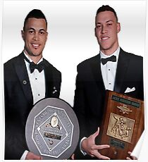 Aaron Judge and Giancarlo Stanton Poster