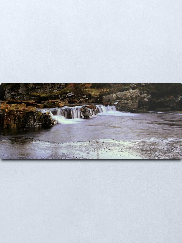 Alternate view of Ice Flow 3 Metal Print