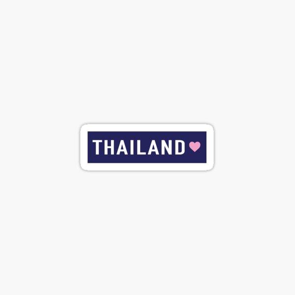 Thailand Sticker