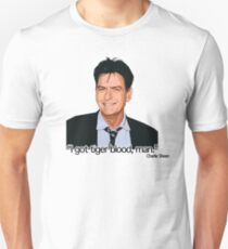 CHARLIE SHEEN-TIGERBLOOD T-Shirt