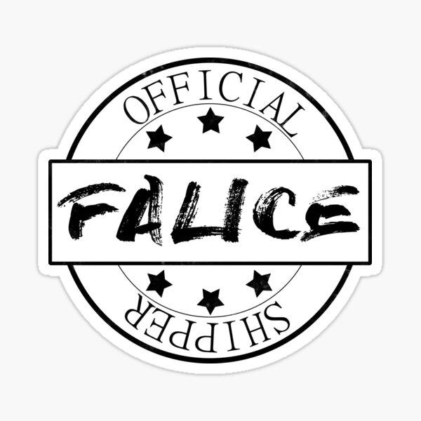 Official Falice Shipper Sticker