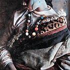 Tibetan woman by Somwangchuk