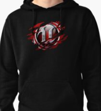 Unreal Ripped Pullover Hoodie
