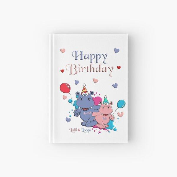 Happy Birthday Notizbuch