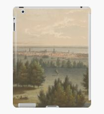 Vintage Pictorial View of Toronto Canada (1851) iPad Case/Skin