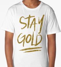 Stay Gold Long T-Shirt