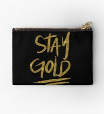 Stay Gold Studio Pouch