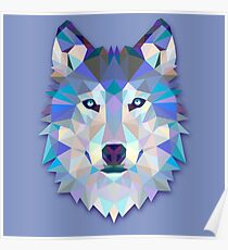 Wolf Animals Gift Poster