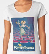 Affiche vintage - Limonade de Fontestorbes T-shirt premium femme